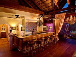 Le bar de l'hôtel Zazen Boutique Resort & Spa en Thailande