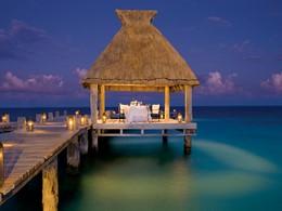Dîner romantique au Zoetry Paraiso au Mexique