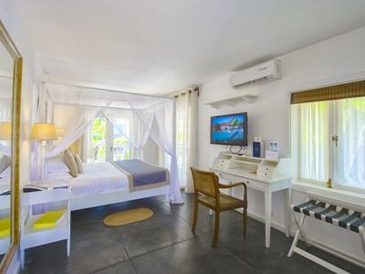 La chambre Charme du 20 Degrés Sud à l'île Maurice