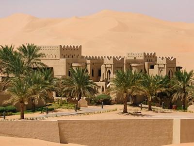 Au coeur du désert à Abu Dhabi