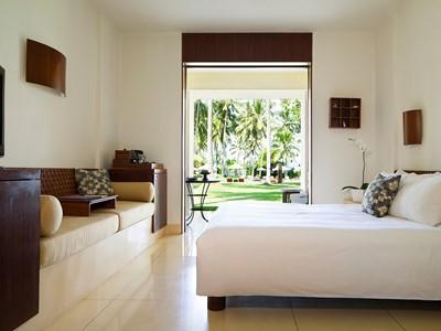 Chambre Supérieure de l'Alila Manggis à Bali