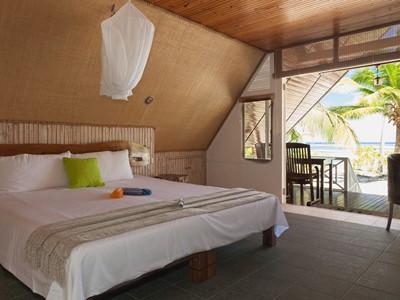 Beach Bungalow de l'hôtel Alphonse Island