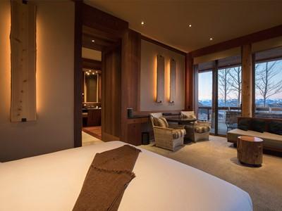 Shoshone Suite de l'hôtel Amangani aux Etats Unis