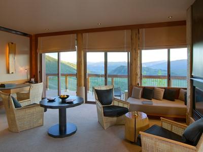 Spring Gulch Suite de l'hôtel Amangani aux Etats Unis
