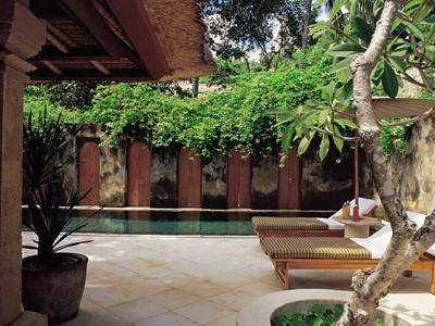 Pool Suite de l'hôtel Amankila à Bali