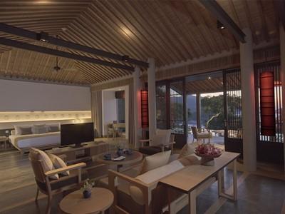 Pool Pavilion de l'hôtel Amanoi à Nha Trang