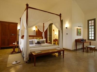 Suite de l'hôtel Amantaka à Luang Prabang