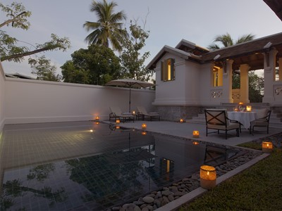 Pool Suite de l'hôtel Amantaka à Luang Prabang
