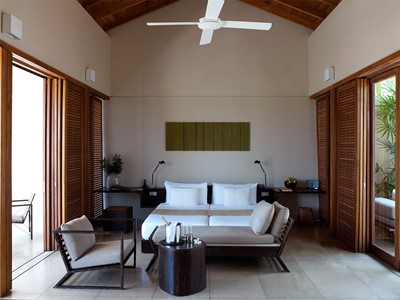 Ocean Pool Suite de l'Amanwella au Sri Lanka