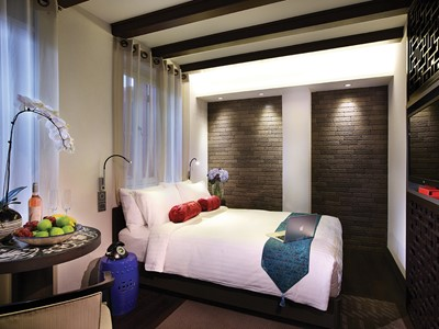 Double Deluxe Room de l'AMOY Boutique Hotel à Singapour