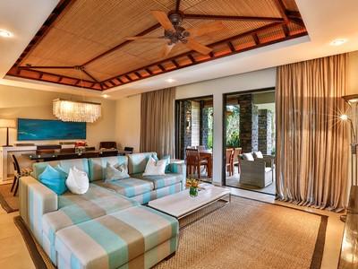 2 Bedroom Prestige Suite Golf View de l'Anahita The Resort