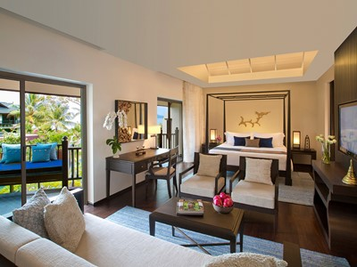 Garden View Suite de l'Anantara Bophut Resort à Koh Samui