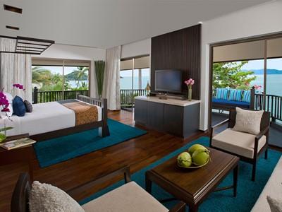 Sea View Suite de l'Anantara Bophut Resort à Koh Samui