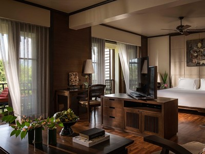Three Country View Family Suite de l'Anantara Golden Triangle