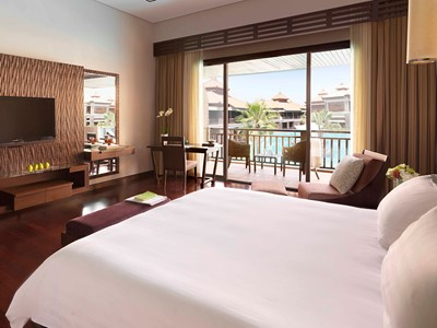 Chambre Premier Lagoon View de l'hôtel Anantara