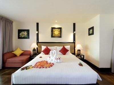 Beachfront Pool Villa de l'Andaman White Beach Resort Phuket