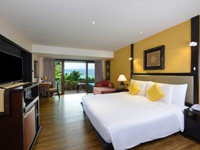 Sea View Superior Room de l'Andaman White Beach Resort
