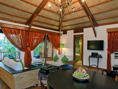 Suite de l'Angkor Village Hotel à Siem Reap