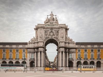 Arc de triomphe de la rue Augusta