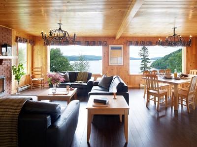 Cottage 4 Rooms de l'Auberge du Lac-à-l'Eau-Claire