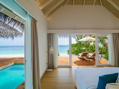 Two-Bedroom Pool Suite Beach Villa