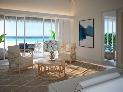 Grand Beach Villa With Pool du Baglioni aux Maldives