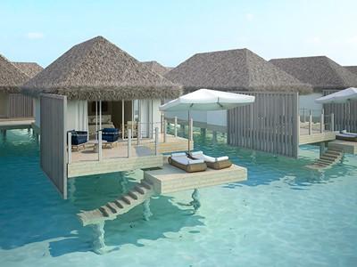 Water Villa de l'hôtel Baglioni Resort Maldives