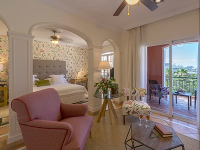Junior Suite Sea View Casas Ducales