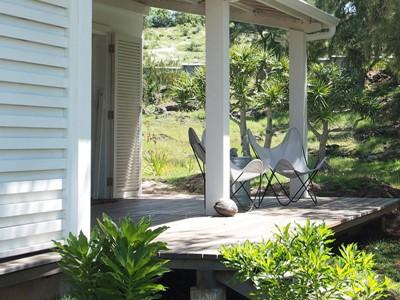 Terrasse de la Suite Famille