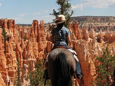 Balade à cheval à Bryce Canyon