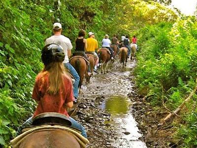 Balade à cheval dans la Waipio Valley