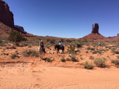 Balade à cheval dans Monument Valley (2h)