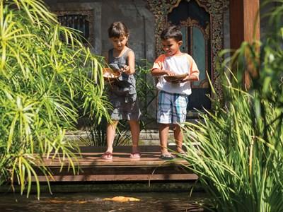 Vacances en famille à Bali