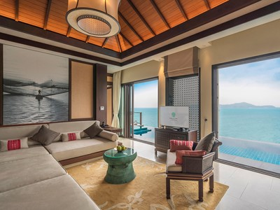 Two Bedroom Seaview Hill Pool Villa du Banyan Tree Lang Co