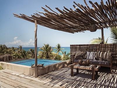 Ocean Suite du Be Tulum Hotel au Mexique