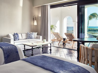 Casita Beachfront Twin Room