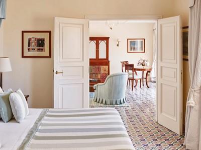 Deluxe Suite du Belmond Hotel Caruso en Italie