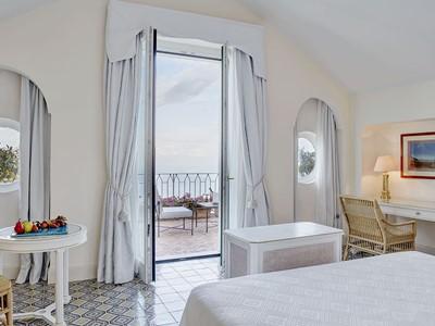 Double Deluxe du Belmond Hotel Caruso en Italie