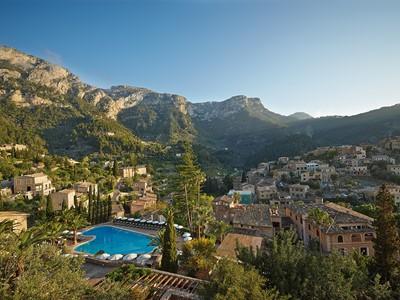 Vue aérienne de l'hôtel Belmond La Residencia