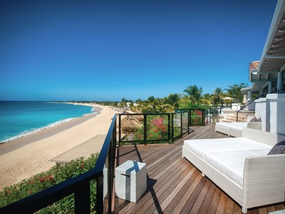 Beachfront suite de l'hôtel Belmond La Samanna à Saint-Martin