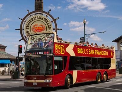 Bus Hop-On Hop-Off San Francisco (2 jours)