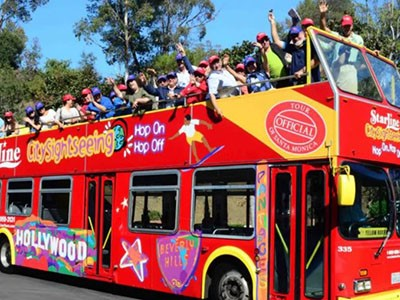 Bus Hop-On Hop-Off Los Angeles  (2 jours)