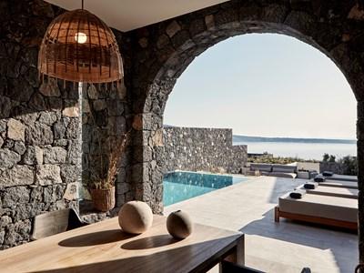 La terrasse de l'Aqua Retreat Bedroom