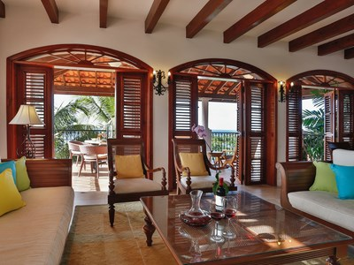 2 Bedroom Oceanview Villa Suite plus Pool