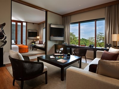 Capella Suite de l'hôtel Capella Singapour