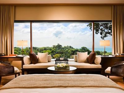 Premier Room de l'hôtel Capella Singapour