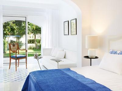 Open Plan Junior Suite with Private Garden du Caramel Grecotel
