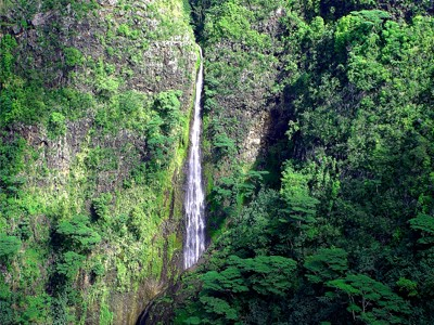 Cascade de Hakaui à Nuku Hiva