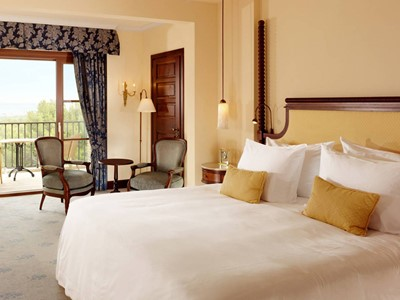 Grand Deluxe Room de l'hôtel Castillo Son Vida à Majorque