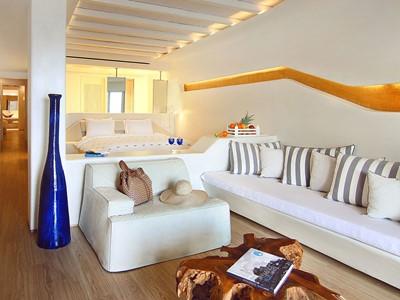 Suite 2 Chambres Avec Jacuzzi® Exterieur du Cavo Tagoo